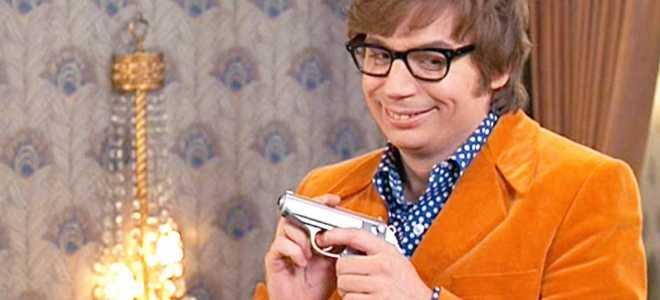 Остин Пауэрс – пародия на шпиона