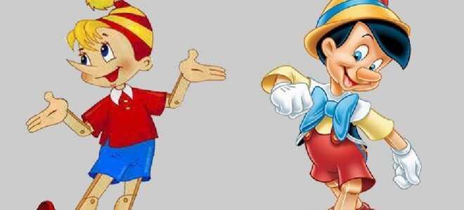 Сравнение сказок о приключениях деревянного мальчика