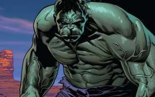Халк как ключевой персонаж мира Marvel